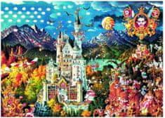 Heye Puzzle 2000 dílků Ryba Michael : Bavaria