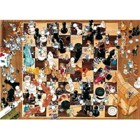 Heye Puzzle 1000 dílků Jigsaw Puzzle - 1000 dílků - Degano : Black or Whi