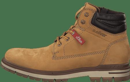 s.Oliver pánská kotníčková obuv 15207_1 42 hnědá