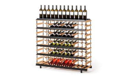 RAXI Prezentační stojan na víno s kapacitou 60 lahví