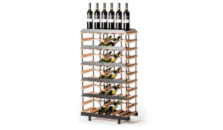 RAXI Prezentační stojan na víno s kapacitou 30 lahví