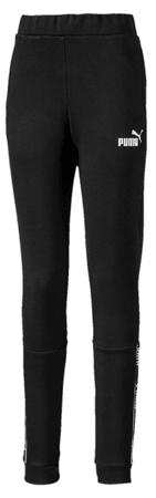 Puma spodnie dresowe dziewczęce Amplified 128 czarne
