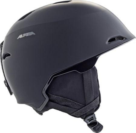Alpina Sports Maroi čelada black matt, 53-57