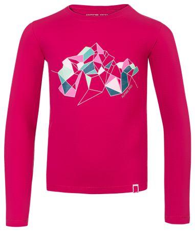 ALPINE PRO dječja majica LEMKO 104 - 110 ružičasta
