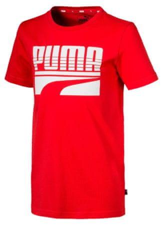 Puma majica za dječake Rebel 116 crvena