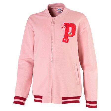Puma lány kabát Sesame Street 104 rózsaszín