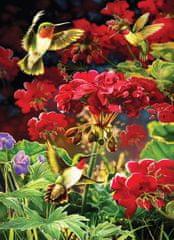 Cobble Hill Puzzle 1000 db Ruby Geraniums
