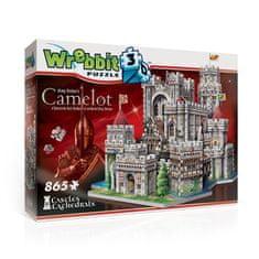 Wrebbit Puzzle 865 dílků 3D Puzzle - King Arthur's Camelot