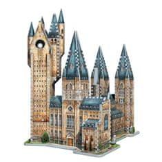 Wrebbit Puzzle 875 db 3D Jigsaw Puzzle - Harry Potter (TM): Poudlard - Ast