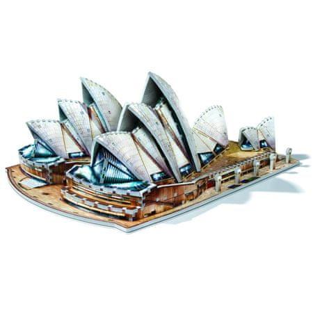 Wrebbit Sydney Opera House 3D 925 dielikov
