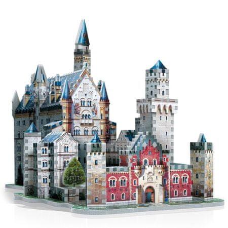 Wrebbit Zámok Neuschwanstein 3D 890 dielikov