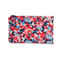 Zipit  Pixel velký penál / pouzdro Blue and Red