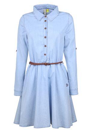 Alife and Kickin dámske šaty Hanna XL svetlo modrá
