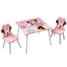 Worlds Apart dětský stoleček se 2 židlemi Minnie