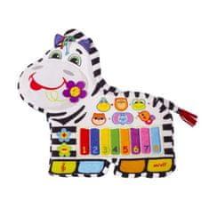 Silverlit Dětské piano Zebra