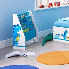 Worlds Apart Dětská knihovna s motivem dinosaura