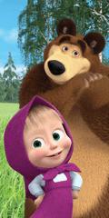 Jerry Fabrics Osuška Máša a medvěd 050