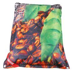 Beanbag Designový sedací vak 189x140 coffee