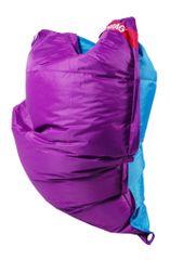 Beanbag Sedací pytel 189x140 duo purple - turquoise
