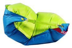 Beanbag Sedací pytel 189x140 duo limet - turquoise