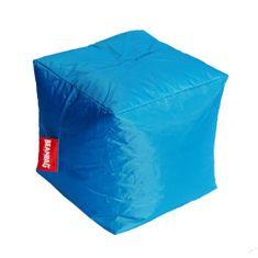 Beanbag Sedací vak cube turquoise