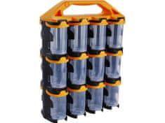 Extol Craft Organizér modulový přenosný, 24 modulů, PP