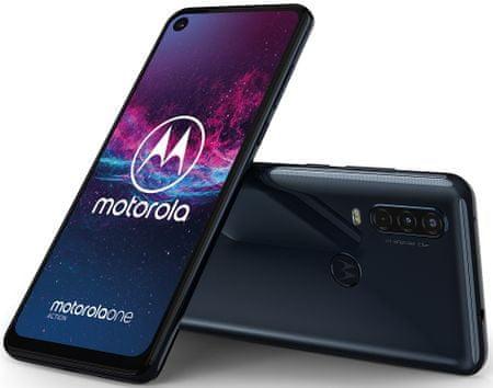 Motorola One Action, 4GB/128GB, Denim Blue