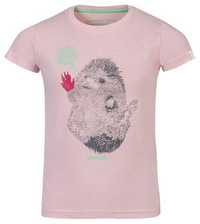 ALPINE PRO Garo 2 otroška majica, 104 - 110, roza
