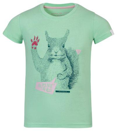 ALPINE PRO dječja majica GARO 116 - 122 zelena