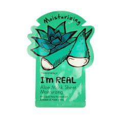 Tony Moly Aloe Vera I`m Real (Aloe Moisturizing Mask) 21 g