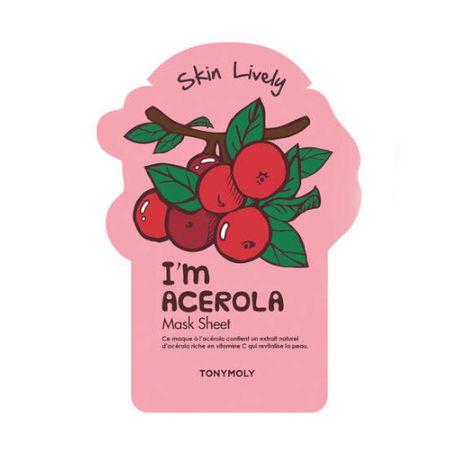 Tony Moly I`m Acerola (Skin Lively Mask) 21 g