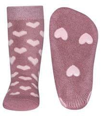 EWERS čarape protiv klizanja za djevojčice Srce
