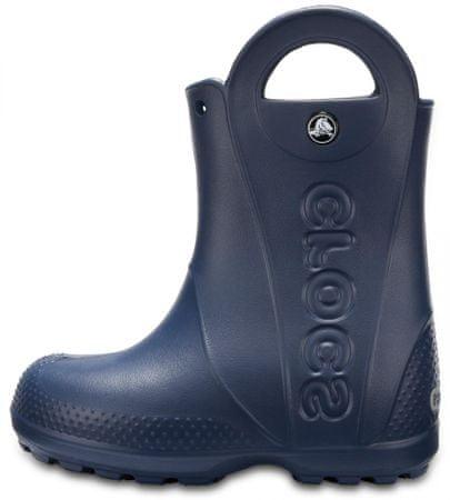 Crocs chlapecké holínky Handle It Rain Boot Kids 27 tmavě modrá