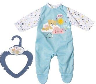 BABY born Kezeslábas alváshoz, kék 36 cm