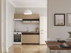 Kuchyně RUTHIN 120/180 cm, rijeka světlá
