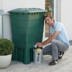 Elkoplast CZ Plastová nádrž na dažďovú vodu RHIN 300-520 l, zelená,300 l