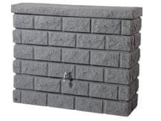 Elkoplast CZ Plastová nádrž na dažďovú vodu ROCHE 400 l, dark granit