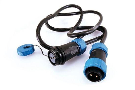 Light Impressions Light Impressions Kapego spojovací kabel Weipu 2-pólový Kabelsystem 5000 mm 730312