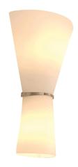 Light Impressions Light Impressions Deko-Light nástěnné přisazené svítidlo Rosado 220-240V AC/50-60Hz E14 / E27 1x max. 40,00 W plus 60,00 W 250 mm bílá 341005