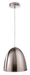Light Impressions Light Impressions Kapego závěsné svítidlo Bell 220-240V AC/50-60Hz E27 1x max. 100,00 W 300 mm stříbrná 342053