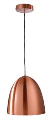 Light Impressions Light Impressions Kapego závěsné svítidlo Bell 220-240V AC/50-60Hz E27 1x max. 100,00 W 300 mm měď 342052