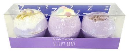 Bomb Cosmetics Kozmetická sada Pokojný spánok (ø 7,5 cm) 3 ks