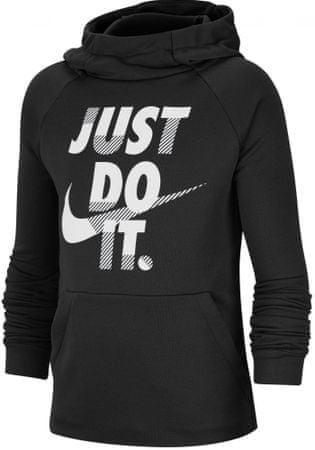 Nike Dri-FIT gyermek pulóver XS fekete