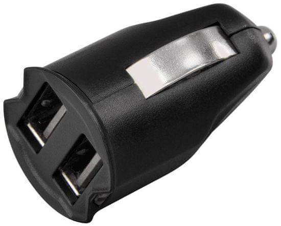 Hama Dvojitá USB nabíječka do auta Dual Piccolino 2,1 A 121961