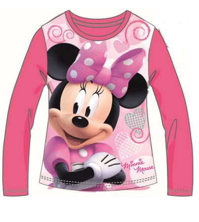 Disney by Arnetta dievčenské tričko Minnie 122 ružová