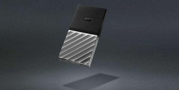 Externí pevný disk WD My Passport SSD 1 TB odolný šifrování heslo vysoká přenosová rychlost