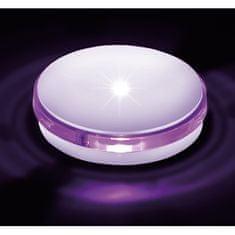 BPM BPM Dekorativní LED svítidlo Renk fialová, bílá SADA 3 ks 1W 8038.14