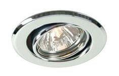 Light Impressions Light Impressions Kapego stropní vestavné svítidlo 12V AC/DC GU5.3 / MR16 1x max. 50,00 W stříbrná 442832