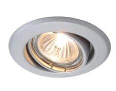 Light Impressions Light Impressions Kapego stropní vestavné svítidlo 12V AC/DC GU5.3 / MR16 1x max. 50,00 W stříbrná mat 442841