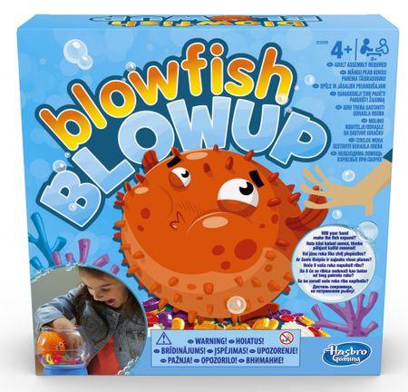 HASBRO družabna igra Blowfish Blowup
